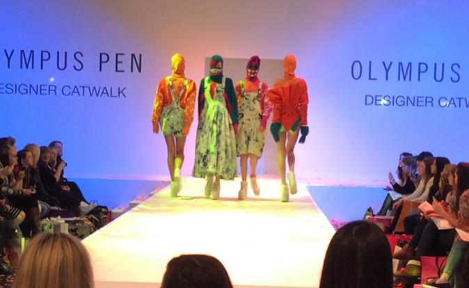 Olympus PEN emerging designers at the Clothes Show Live 2014