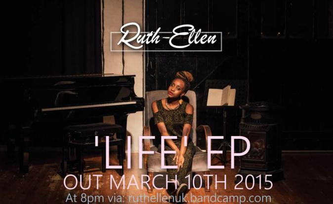 Soulful Ruth-Ellen to launch debut EP on Tuesday 10th March