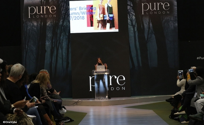 Watch introduction to WGSN's trends presentation at Pure London AW17