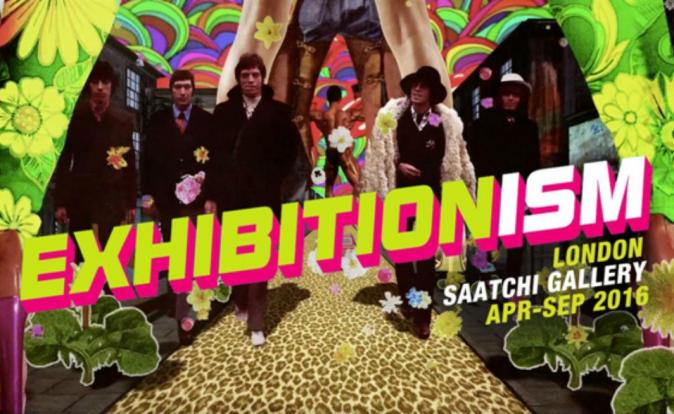 Rolling Stones' EXHIBITIONISM from 5th April 2016