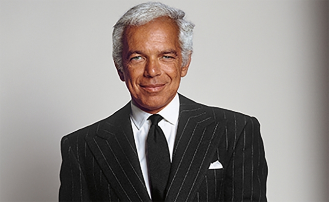 Ralph Lauren to be honoured with Outstanding Achievement Award at Fashion Awards 2016