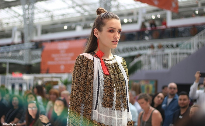 Pure London kicks off with 'oriental futures' themed catwalk
