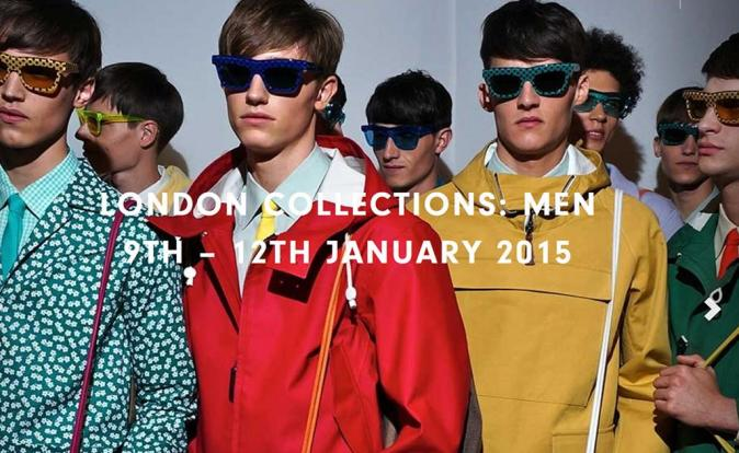 London Collections: Men dates set for 9 - 12 January 2015
