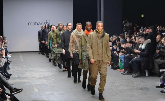 Maharishi's highly anticipated comeback show delivers