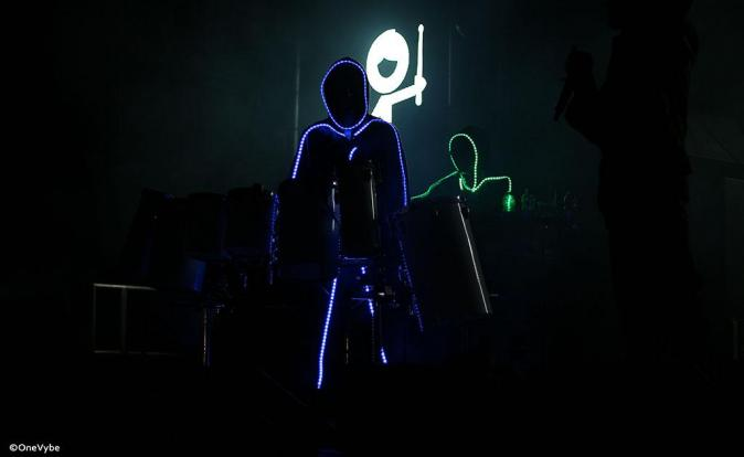 DJ production duo, The Stickmen, in league of their own with futuristic live show