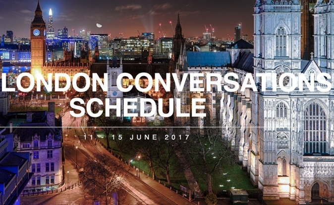 Join 'The London Conversations' from June 11th-15th