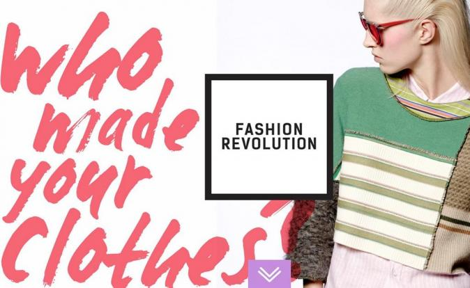 Fashion Revolution urging consumers to support ethical fashion