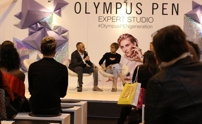 ITV's Mark Heyes & GLAMOUR editor Jo Elvin at The Clothes Show 2016