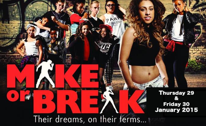 See 'Make Or Break' on 29 & 30 January 2015