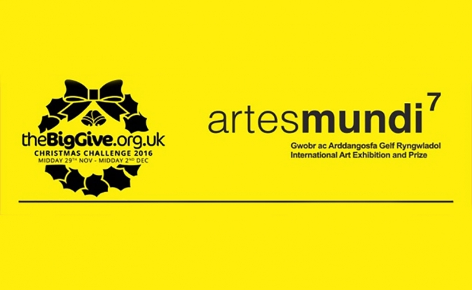 Artes Mundi takes part in the BIG GIVE Christmas Challenge