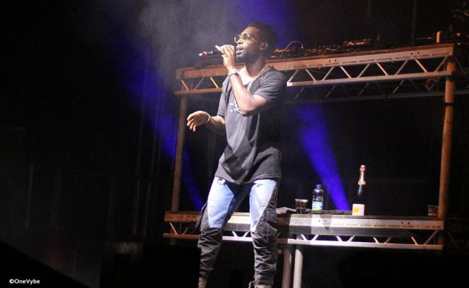 Tinie Tempah thrills at the Inside Out Festival in Cardiff