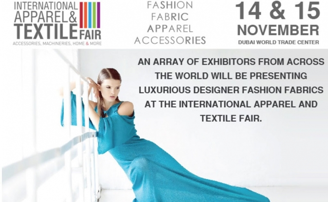 International Apparel and Textile Fair Dubai: 14th - 15th November 2016