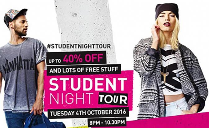 Student Night Tour is Back at St David's, Cardiff