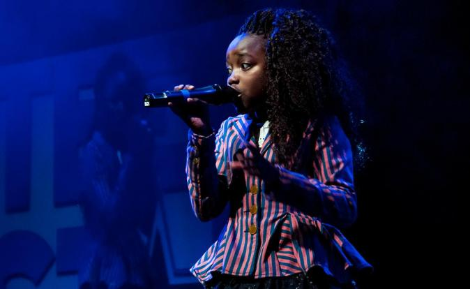 Brave singing sensation Tamara enjoyed performing on TeenStar final