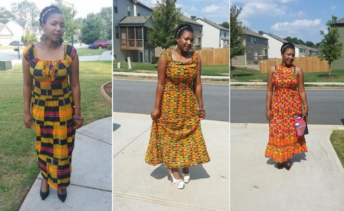Suku Foundation's Addicted to KENTE dresses for sale!