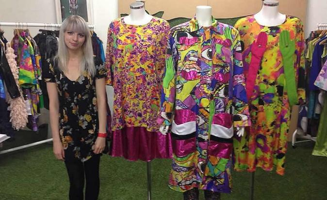 Maisie Jane Andrews makes an impact with her vivid designs