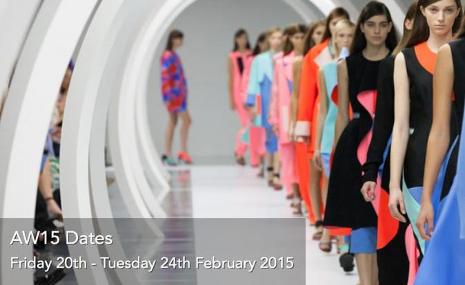 London Fashion Week set for the 20th - 24th February 2015